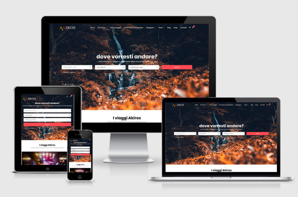 Online il nostro nuovo sito web www.akirosviaggi.it !